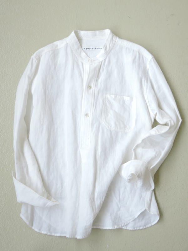 416303 クラシックポートシャツ ¥16.000+tax Col.#1オフ白 Del.7月