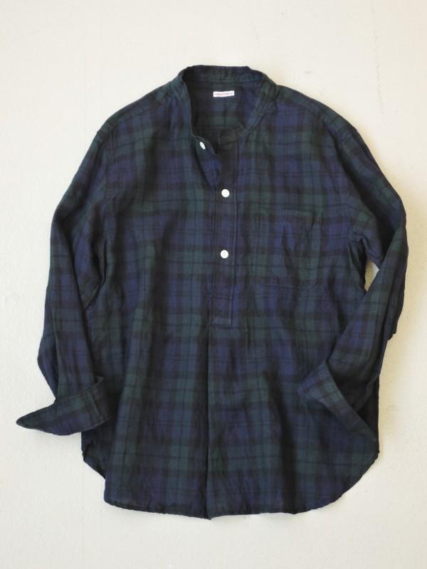 416316 スコットヘンリーシャツ ¥15.000+tax Col.#1ブラックウォッチ Del.9月