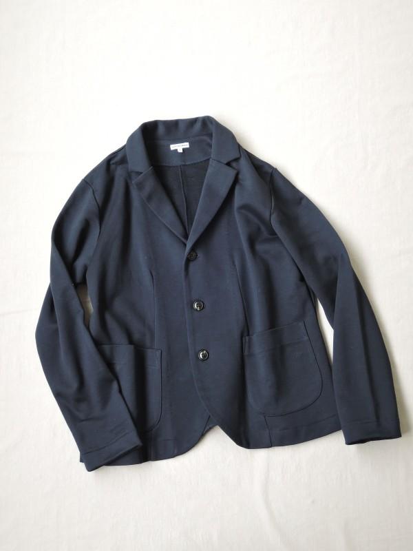 217303 フレンチテリージャケット ¥15.000+tax Col.#1杢グレー#2ネイビー Size#1#2 Del.8月