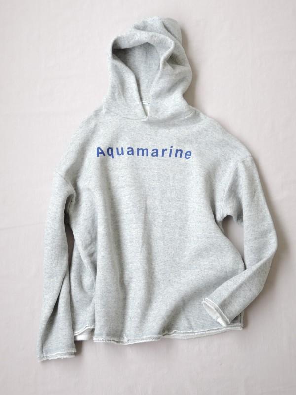217312 Aquamarineラフパーカー ¥12.000+tax Col.#1オートミール#2杢グレー Del.8月