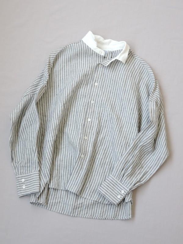 417301 オールドストライプシャツ ¥18.000+tax Col.#1生成ベース Del.8月