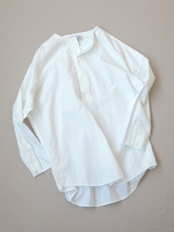 417306 ブライトシャンブレーシャツ ¥14.000+tax Col.#1オフ白#2ブルー#3ネイビー Del.8月