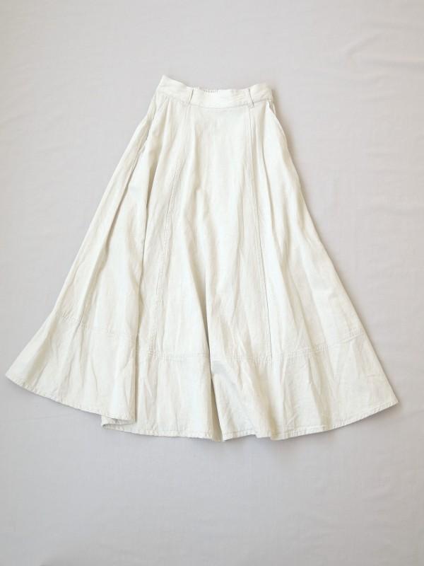 617202 ネイティブランドスカート ¥19.000+tax Col.#1生成#2インディゴ Size#1#2 Del.7月