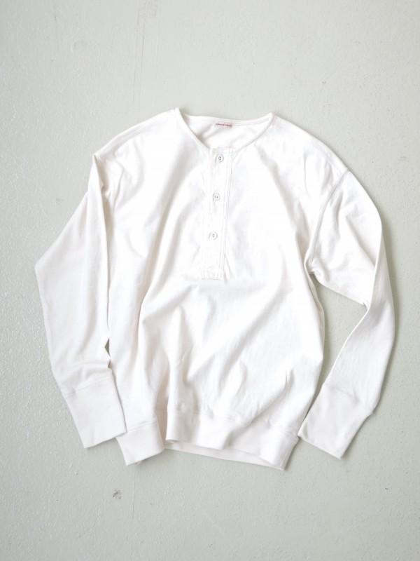 216316 サープラスヘンリーネック ¥11.000+tax Col.生成カス残 Del. 8月