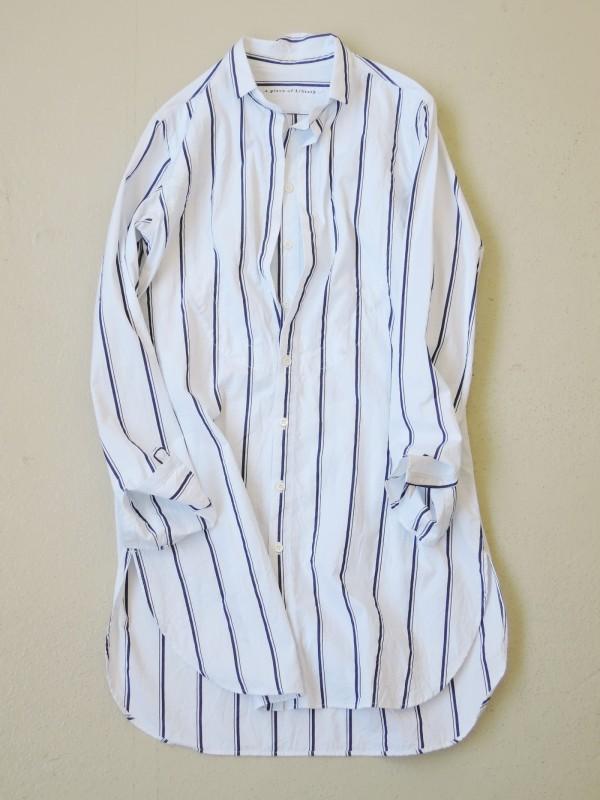 416309 アンダルシアシャツ ¥18.000+tax Col.#1白ベース #2ブルーベース Del.8月