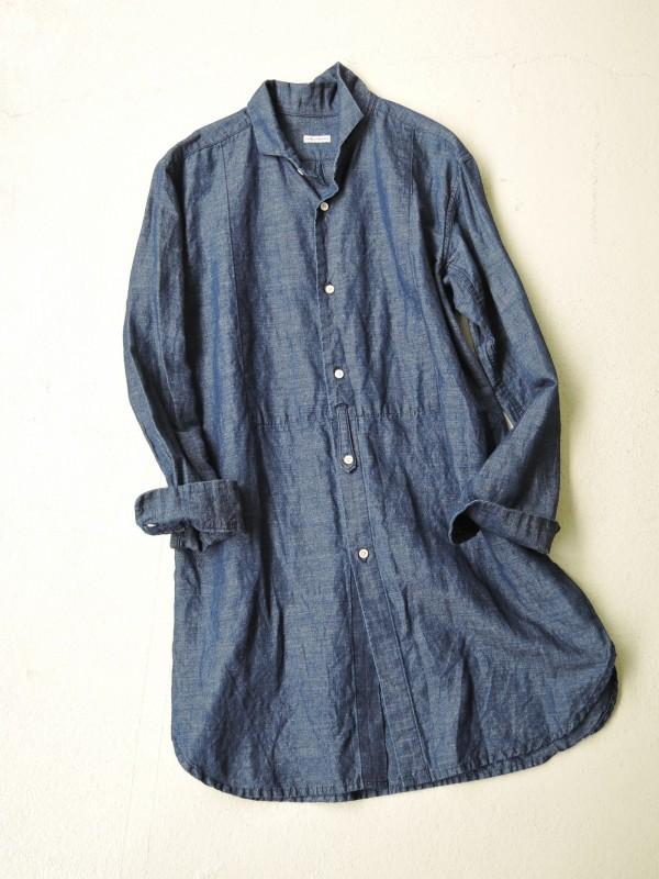 416320 デコールブルーシャツ ¥18.000+tax Col.#1インディゴシャンブレー Del.9月