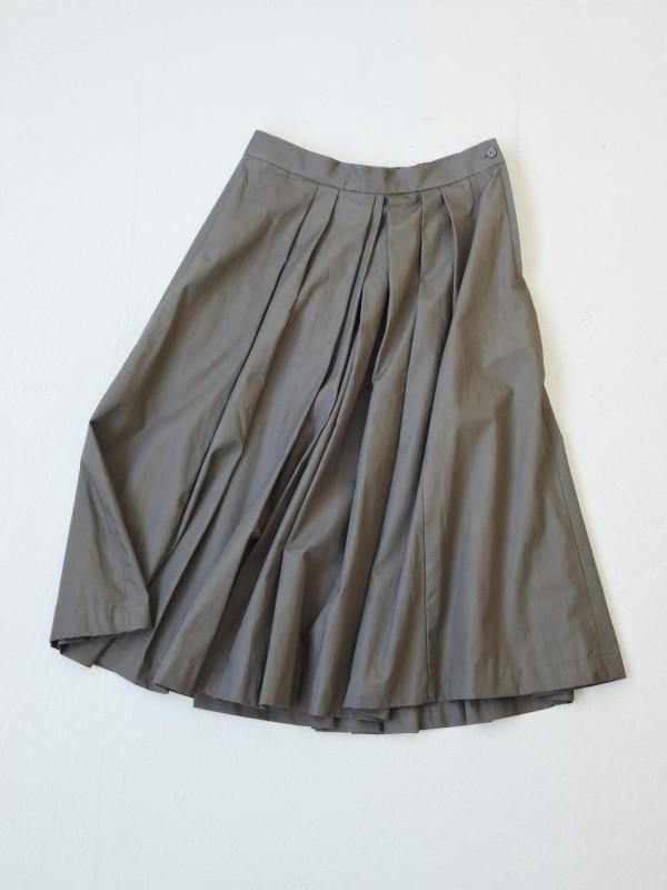 616303 セントアーススカート ¥18.000+tax Col.#1カーキベージュ #2オリーブ #3ブラック Del.9月