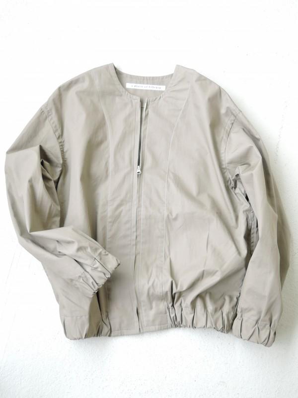 716304 ランドアースジャケット ¥17.000+tax Col.#1カーキベージュ #2オリーブ #3ブラック Del.9月