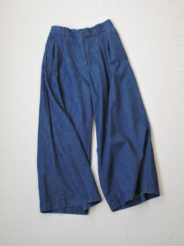 517306 ジプシーブルーワイドパンツ ¥16.500+tax Col.#1インディゴデニム Size#1#2 Del.8月