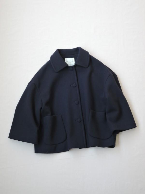 717304 アリスフォークジャケット ¥30.000+tax Col.#1ベージュ#2ブラウン#3ネイビー Del.10月